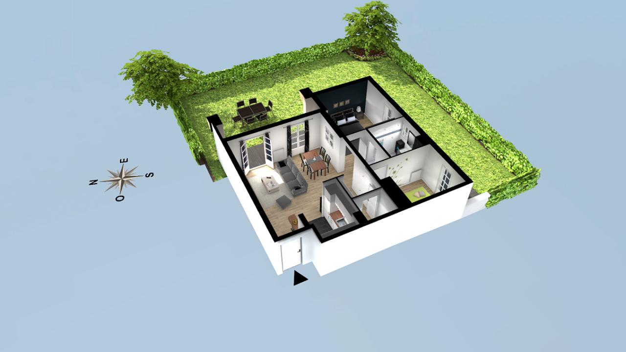 résidence HARITZA à Ascain par INDO IMMO promoteur immobilier Côte Basque