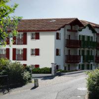vue 3d n-Est de la résidence ESKOLA à sare 64310 le nouveau programme immobilier neuf de indo immo promoteur constructeur côte basque